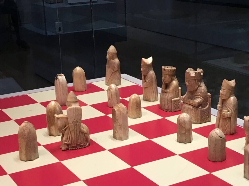 The Lewis Chessmen - British Museum - 2019